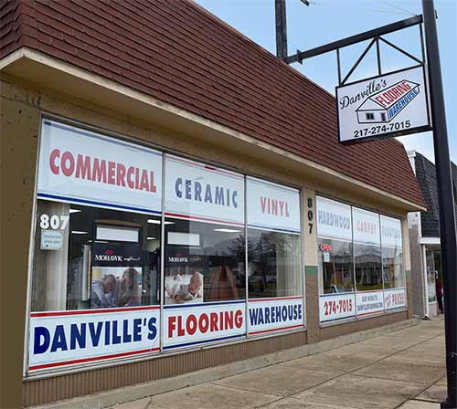 Danville's Flooring Warehouse Exterior